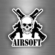 Sticker car moto biker bomb skull jdm airsoft decal tactical gun sniper r1