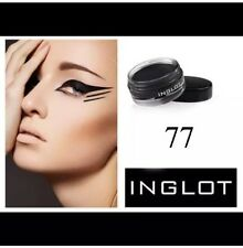 INGLOT AMC GEL EYE LINER BLACK 77 MATTE SMUDGE FREE 1ST CLASS RECORDED POST