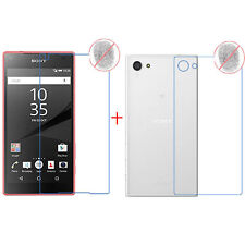 Front+Back Anti-Glare Matte Full Screen Protector Film Fr Sony Xperia Z5 Compact