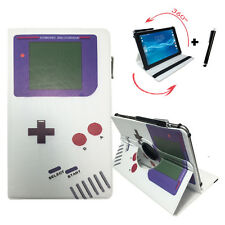 10.1 zoll Tablet Tasche - AMPE A10 Quad Core Allwinner  - 360° Game Boy Motiv
