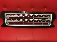 Land Rover Discovery 3 Black & Silver Front Grille - Disco 4 Style Fits Disco 3