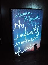 NEW The Infinite Moment of Us by Lauren Myracle 2013 Hardcover 1st/1st
