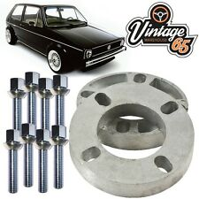 Vw Golf Mk1 Mk2 Caddy Polo Corrado 19mm Pair Wheel Spacer Kit  M12x1.5 XL Bolts