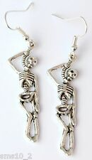 Hand Made Hung Skeleton Earrings HCE0310