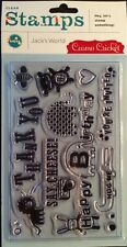 """Cosmo Cricket """"Jack's World"""" Clear Stamp Set *New*"""