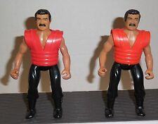 "Vintage SECRET OF THE NINJA Remco 5.5"" TAE KWON DO WARRIOR 1984 Figure Lot of 2"