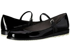 Stuart Weitzman Mary Jayne size 8.5 M new in  box black patent