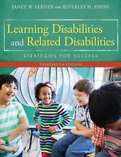 Learning Disabilities & Related Disabilities Strategies for Success BRAND NEW
