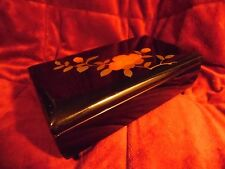 Vintage Sone Ware Orgel Lacquer Wood Tnkt/Music Box. Tokyo,, Japan  #2070 Signed