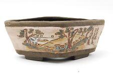 Vintage Bonsai Pot Bunzan Osamu collaboration Tokaido GojusanTsugi Shirasuga 89