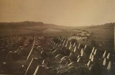 VINTAGE WW2 DRAGON'S TEETH TANK TRAPS KILLING ZONE AACHEN GERMANY RARE OLD PHOTO