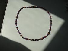 Vintage Retro Handcrafted Colourful Bead Choker Necklace