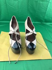Marc By Marc Jacobs Patent Wedge Shoes size 38.5