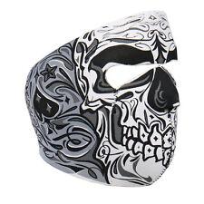 Biker Motorrad Face Mask Sugar Skull Day Of Dead Ace Totenkopf Maske Sturmhaube