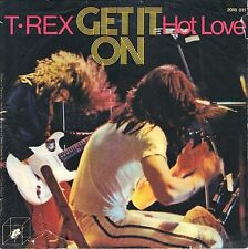 """7"""" T. Rex – Get It On / Hot Love / CUBE RECORDS // Rare Germany 1972"""
