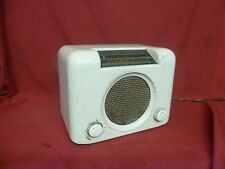 Vintage Bush DAC90 valve radio Ivory Cream Bakelite case Working