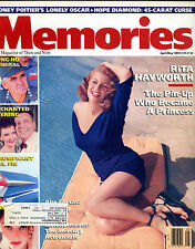 Memories The Magazine of Then and Now April/May 1989 Rita Hayworth EX 012016jhe