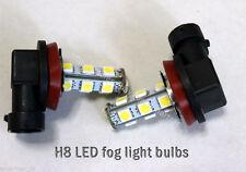 White H8 LED Fog Light Bulb fit 2012 2013 2014 2015 2016 KIA Rio Sedan