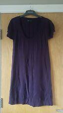 Mango purple jumper dress. Size L
