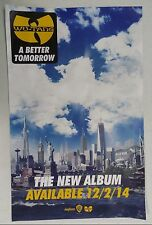 Music Poster Wu-Tang Clan ~ A Better Tomorrow