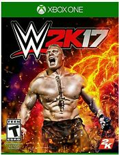 WWE 2K17 * XBOX ONE * BRAND NEW FACTORY SEALED!
