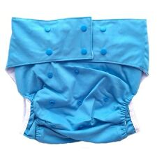 Teen / Adult Cloth Diaper Reusable -Blue