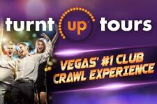 LAS VEGAS PARTY BUS NIGHTCLUB CRAWL TOUR FOR TWO PEOPLE