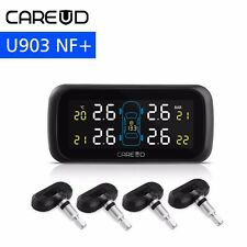 TPMS Tire Pressure Monitor System+4 Internal Sensor Auto Car Cigarette Lighter