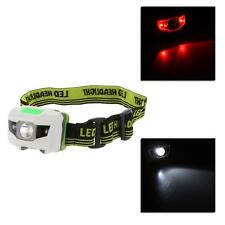 3W LED Headlight Headlamp Flashlight Hiking Camping Night Fishing Riding Cy