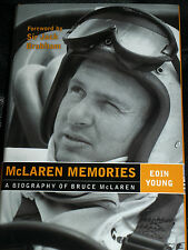 BRUCE MCLAREN MEMORIES EOIN YOUNG TASMAN SERIES LE MANS 24 HEURES 1966 CAN AM F1