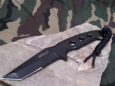 """MTech Fixed Tanto Blade Knife Half Serrated Hunting Full Tang 8.5"""" 2015TBK"""