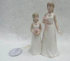 "Leonardo Collection ""Bridesmaids"" Designed by Annie Rowe Porcelain Figurine Bnib"