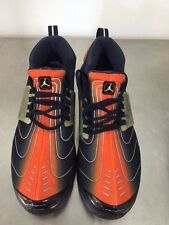 Rare Vintage Nike Air Jordan Trunner Bubble Shoes Size 11.5 Orange / Black NEW!