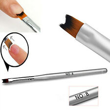 1X Acrylic UV Gel Nail Painting Drawing French Tips Manicure Pen Brush Hot Cool
