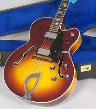 1976 Guild X-175 Guitar with TAGS & Case Arhctop Sunburst