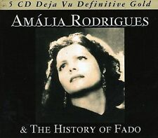 The History of Fado by Am lia Rodrigues (CD, Oct-2006, MSI Music Distribution)
