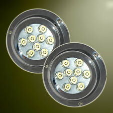 2 x 27W Underwater LED Marine/Boat Light White S/S 12/24v Clearance RRP $839