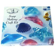 SCENTED SOAP MAKING KIT HOUSE OF CRAFTS SEA THEME MOULDS DYE LUSH FRAGRANCE 260