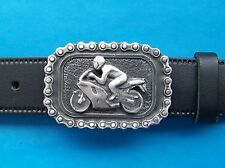 Belt Buckle Motorcycle Mens Metal Biker Bike 3d Gothic Motorcycles FREE UK POST