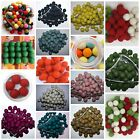 Lot Of 100% Wool Nursery Felt Balls Choose your Color For Handmade DIY 2cm