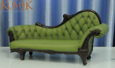 1/6 KUMIK AC-7 Plastic Sling Chair Couch Model Furniture Toy Green F 12'' Figure