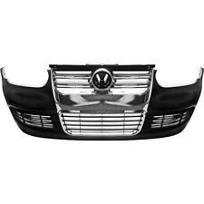VW GOLF IV 4 r32 LOOK PARAURTI ANTERIORE CON GRIGLIA ANTERIORE CROMO ABS anno 97-03 2yf