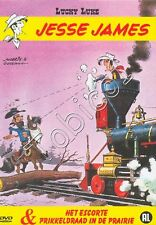 LUCKY LUKE - JESSE JAMES - HET ESCORTE - PRIKKELDRAAD IN DE PRAIRIE - DVD