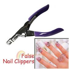 High Quality Acrylic Manicure UV Gel Nail Clippers Cutter Tips Pur New