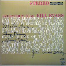 Bill Evans Trio EVERYBODY DIGS BILL EVANS Stereo RIVERSIDE RECORDS New Vinyl LP