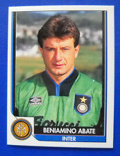 FIGURINA TUTTO CALCIO 93/94 - N. 106 - ABATE - INTER - new