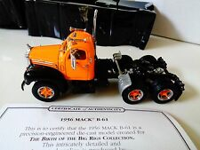 MATCHBOX-DINKY-BIG RIG REPLICAS- 1956 MACK B-61 TRUCK   1:50 NIP