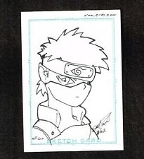All-Com Comic Artist Sketch Card 2007 Scott Frotter ~ WH