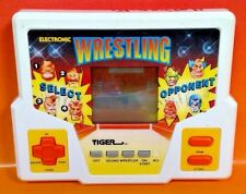 Wrestling - Tiger Electronic Handheld Game & Battery Cover Tested