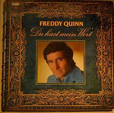 """FREDDY QUINN - DU HAST MEIN WORT HANDSIGNIERT 12"""" LP (T 443)"""